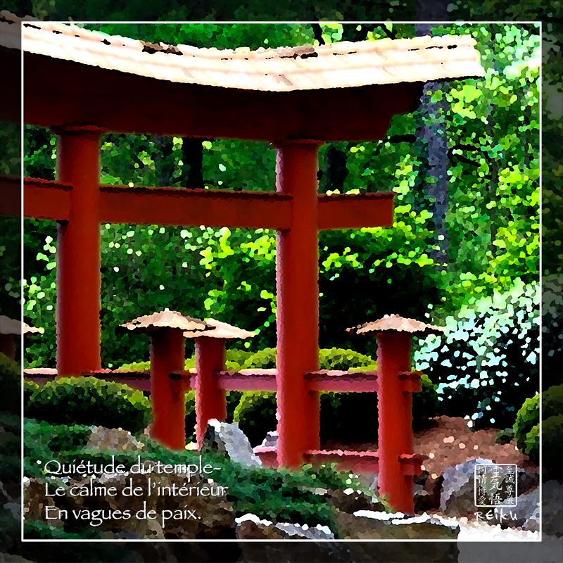 Quiétude Du Temple... Se former au REiKi c'est accéder au calme intérieur